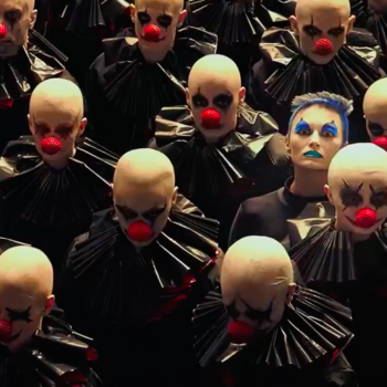 "Here are all the very odd things I noticed in the first teaser for ""American Horror Story: Cult"""