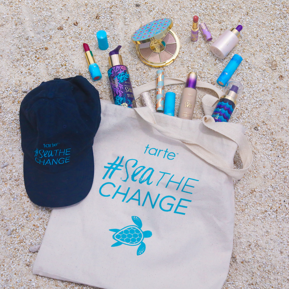 Celebrate Tour de Turtles with Tarte Cosmetics, by shopping their Rainforest of the Sea collection