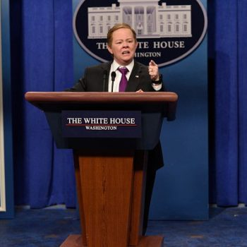 Democratic politicians are more upset about losing Melissa McCarthy's impressions than losing Sean Spicer, and same