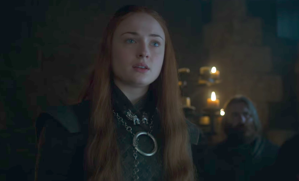 "Sophie Turner thinks Sansa might be *the* smartest player on ""Game of Thrones"""