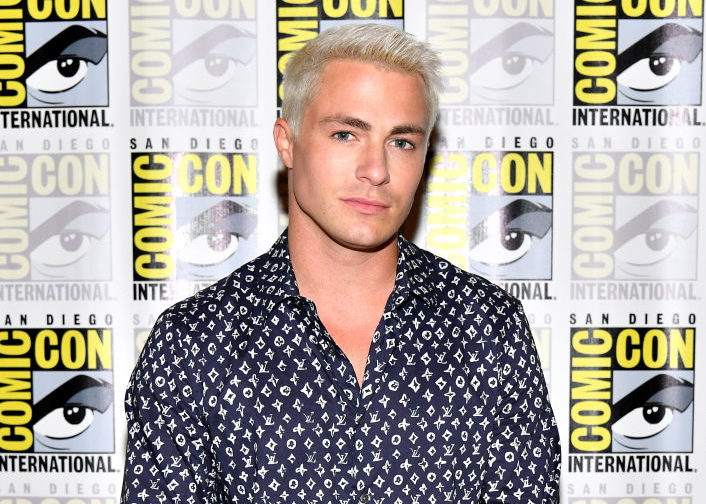 "Colton Haynes says ""American Horror Story: Cult"" is the *perfect* title"