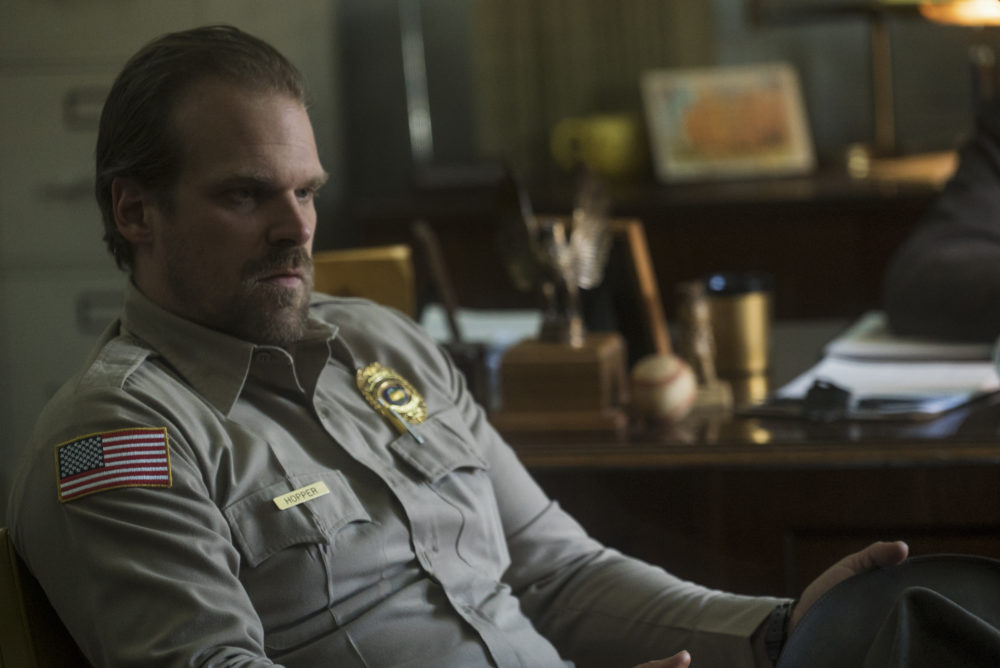 David Harbour's early, embarrassing role is pretty much the opposite of Chief Hopper