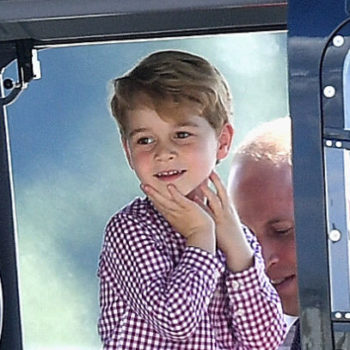 Prince George turns four years old today, and his birthday portrait is absolutely adorable