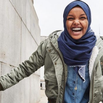 American Eagle's denim hijab sold out in just two weeks, and we can see why!