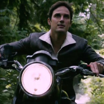 "Henry rides a motorcycle through a portal in the ""Once Upon A Time"" season premiere, and you have our attention"