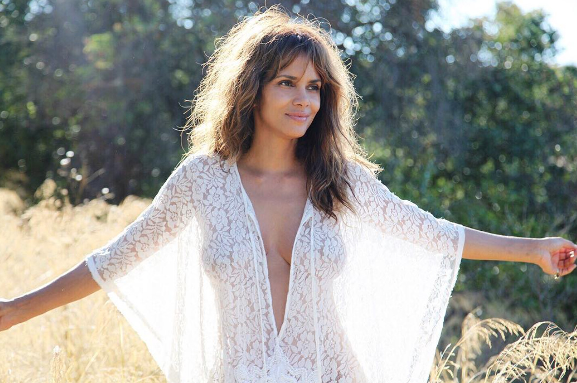 Halle Berry says she's never had a birthday party, and is it cool if we throw her one?