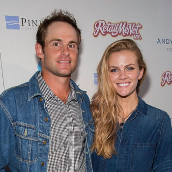 Brooklyn Decker and Andy Roddick are expecting their second child, and he revealed the news in the sweetest way