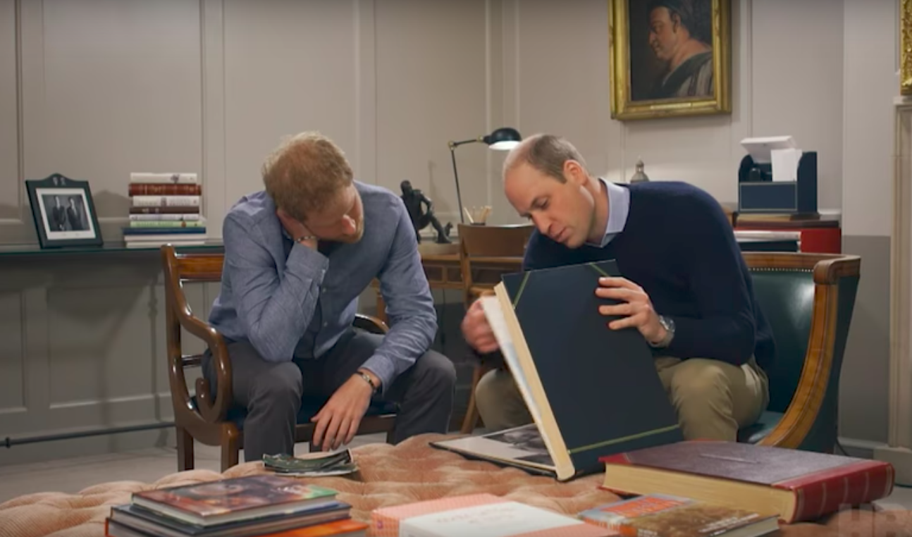 Princes William and Harry open up about the last time they spoke to their mother, Princess Diana, in an emotional new doc