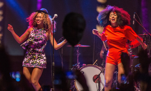 Beyoncé joined Solange for her first girls' night out since giving birth to twins, and it looks like they had so much fun