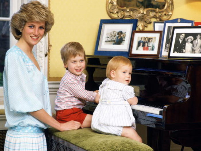 Prince William And Prince Harry Share Personal Family Photos Of Their Mother