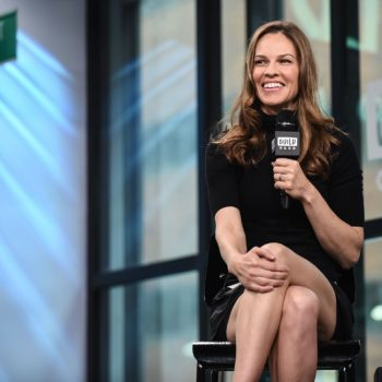 Hilary Swank's arm workout is intense AF, and here's the Insta vid to prove it