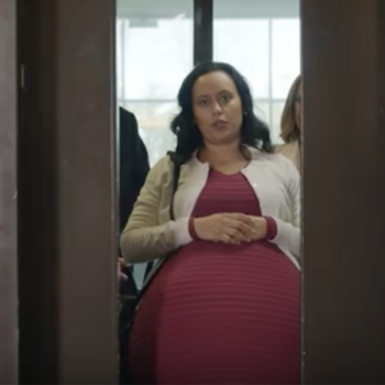 This woman has been pregnant for five years so she can send you this important message
