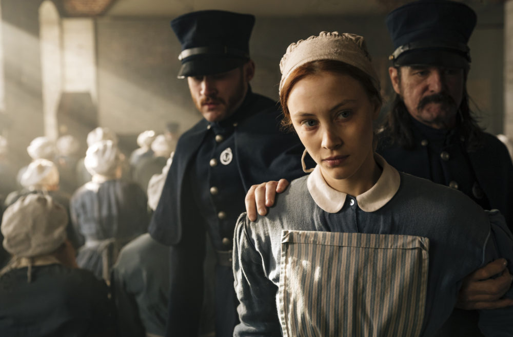 "The teaser for Margaret Atwood's ""Alias Grace"" is here, and this Netflix mini-series goes much deeper than whodunit"