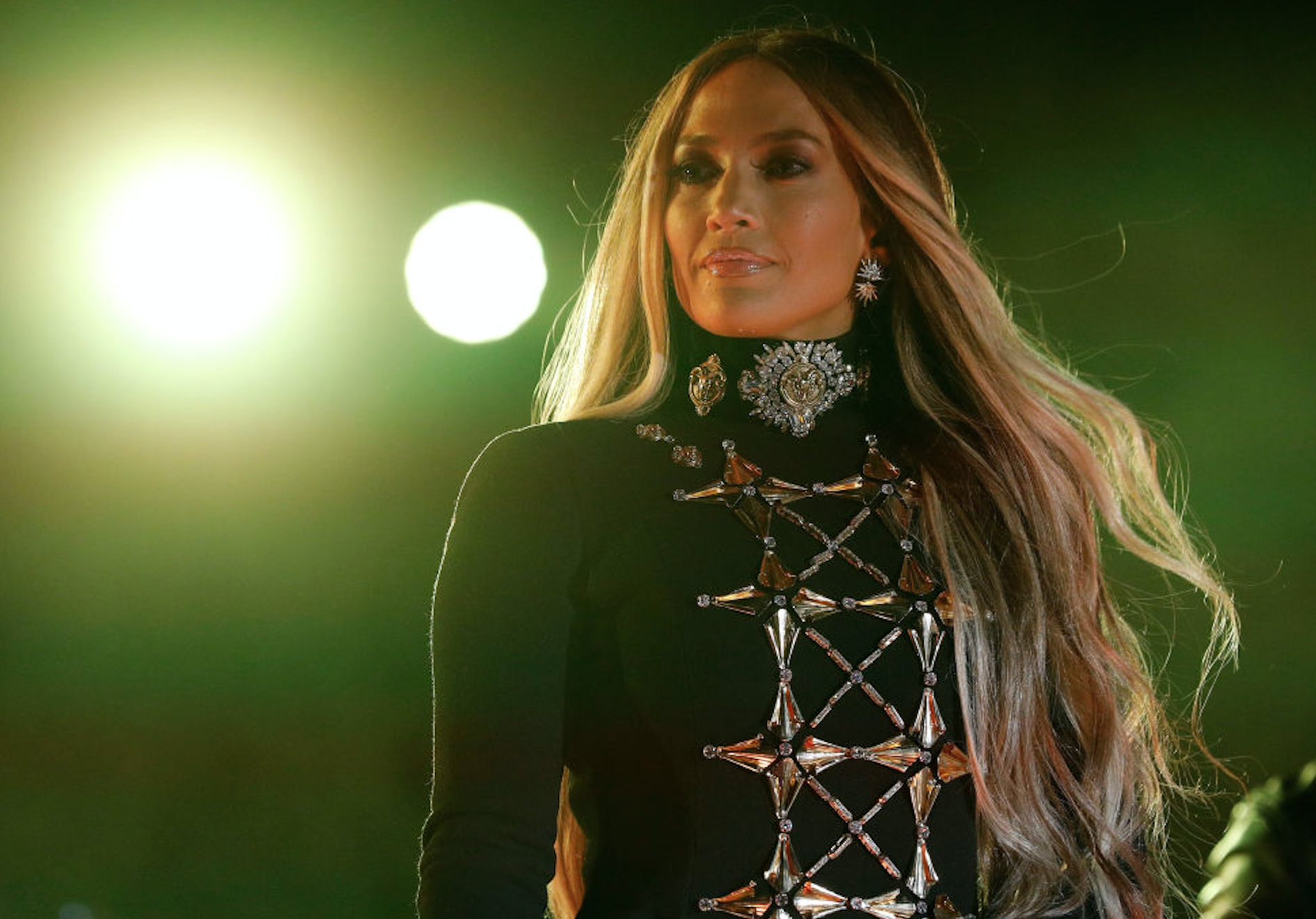 Jennifer Lopez is making the case for wide-legged pants