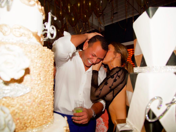 Jennifer Lopez and Alex Rodriguez continue to be goals af with their joint birthday party