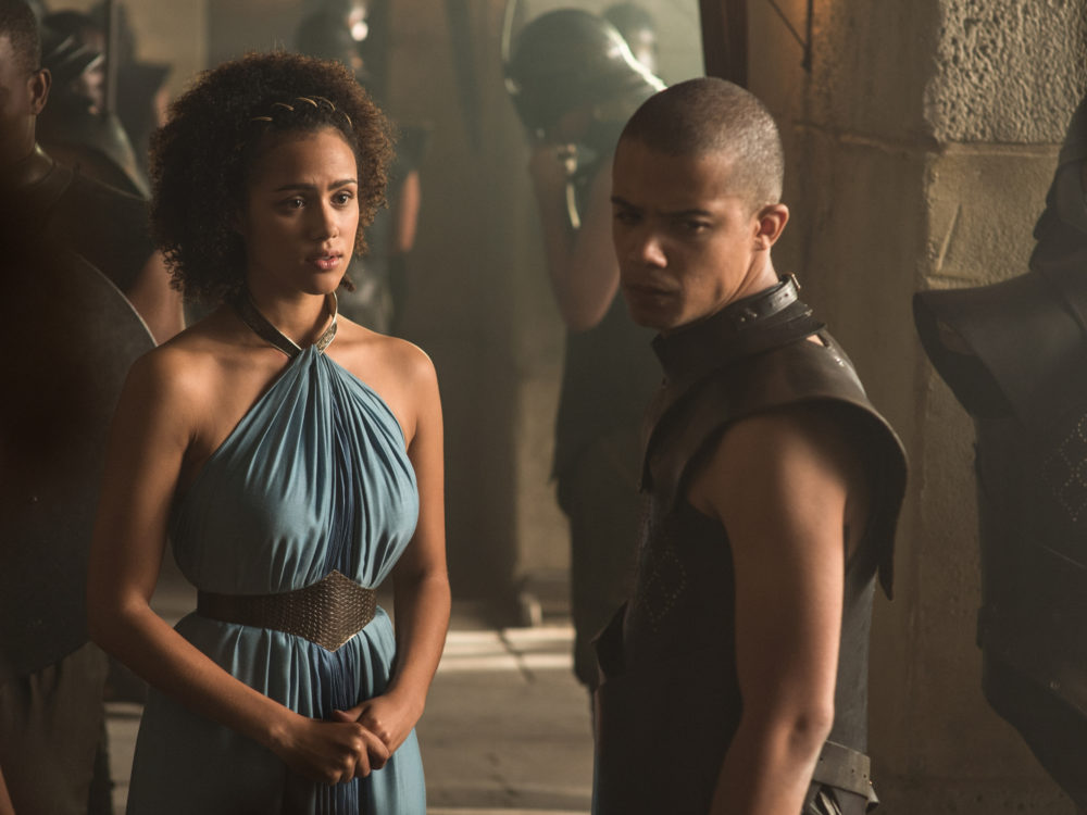 "Nathalie Emmanuel on shooting *that* ""Game of Thrones"" nude scene"