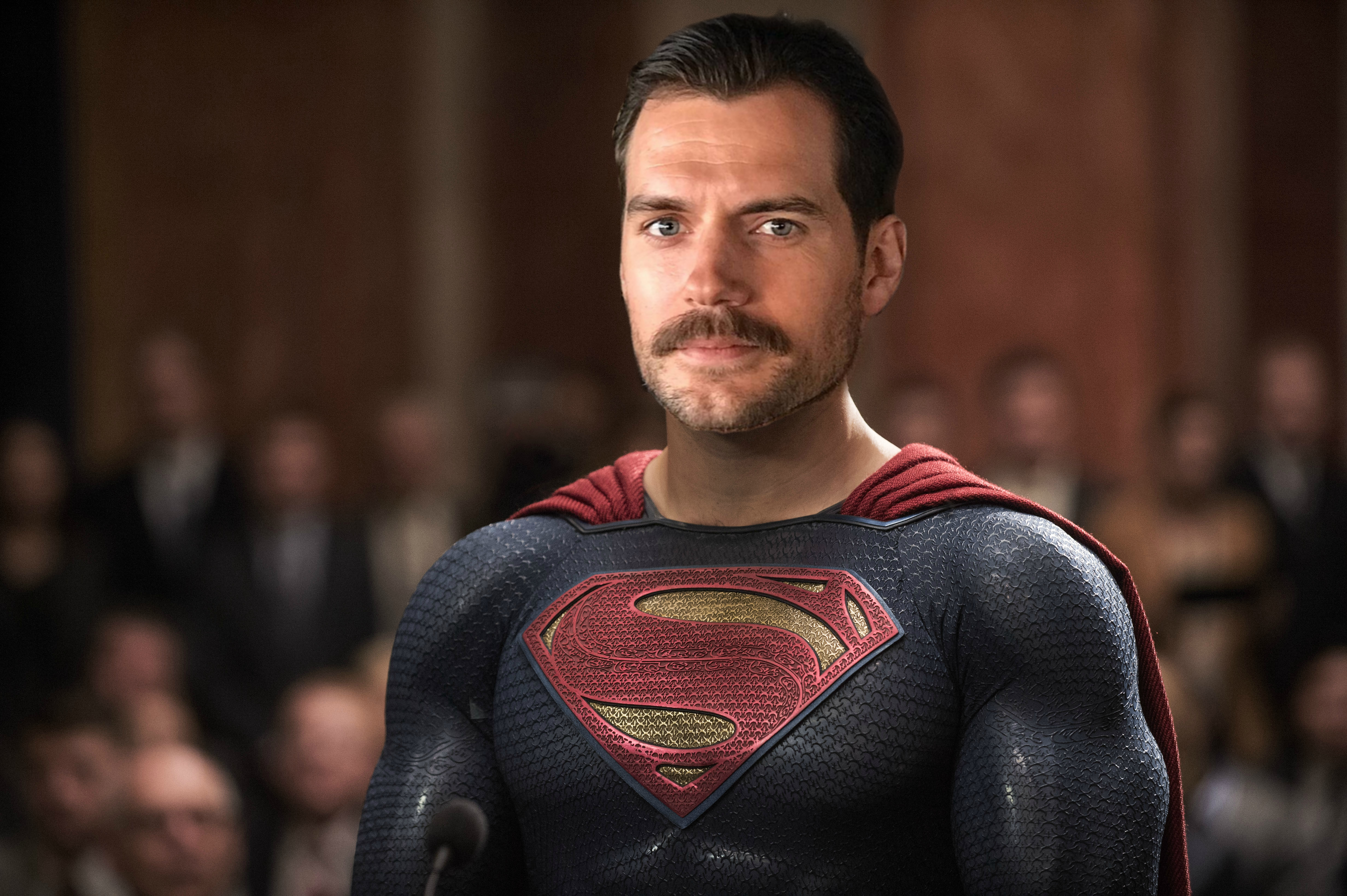 "Henry Cavill's mustache is causing a headache for the ""Justice League"" reshoots, and yes, this is a real thing"