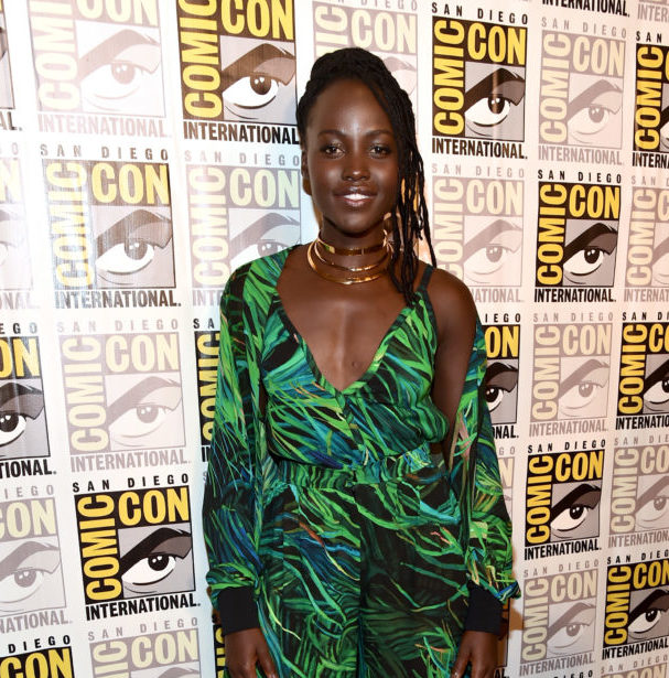 Lupita Nyong'o's ensemble at Comic-Con will give you all the tropical feels