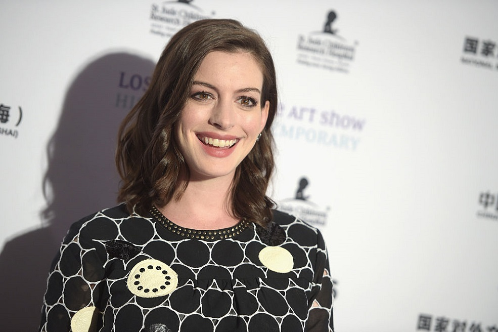 "Anne Hathaway may be replacing Amy Schumer in the ""Barbie"" movie"