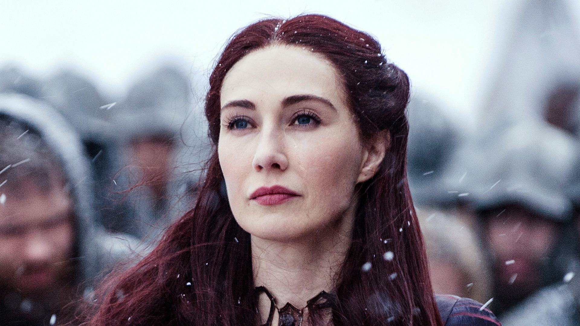 "Here's who the Red Woman in ""Game of Thrones,"" Carice van Houten, thinks is the ""Prince Who Was Promised"""