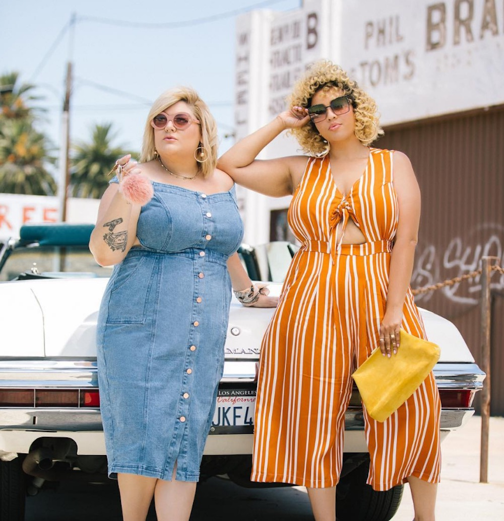 Plus-size fashion bloggers Nicolette Mason and Gabi Gregg are launching a clothing line together