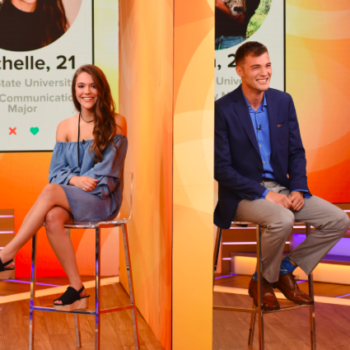 This viral Tinder couple finally met after three years on live TV, and it was adorably awkward