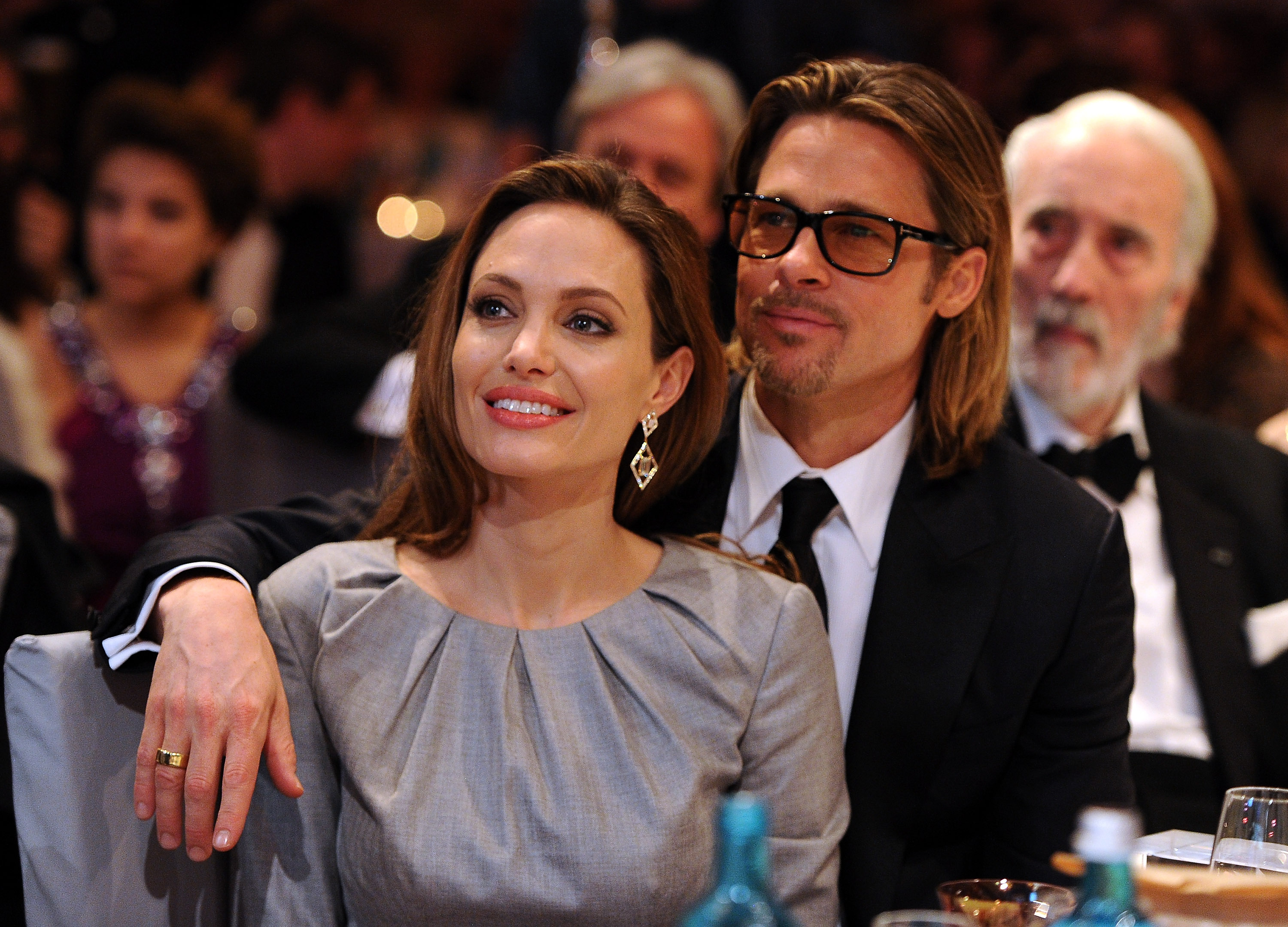Angelina Jolie has addressed her divorce from Brad Pitt for the first time ever, and in the most cryptic way