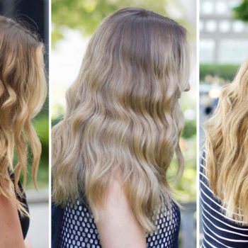 I wash my hair once a week — and it's never looked better