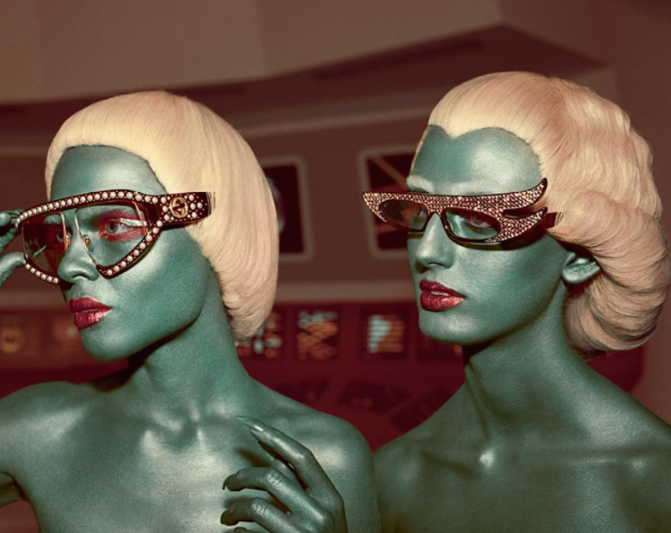 Gucci's latest campaign is a visual feast for sci-fi lovers