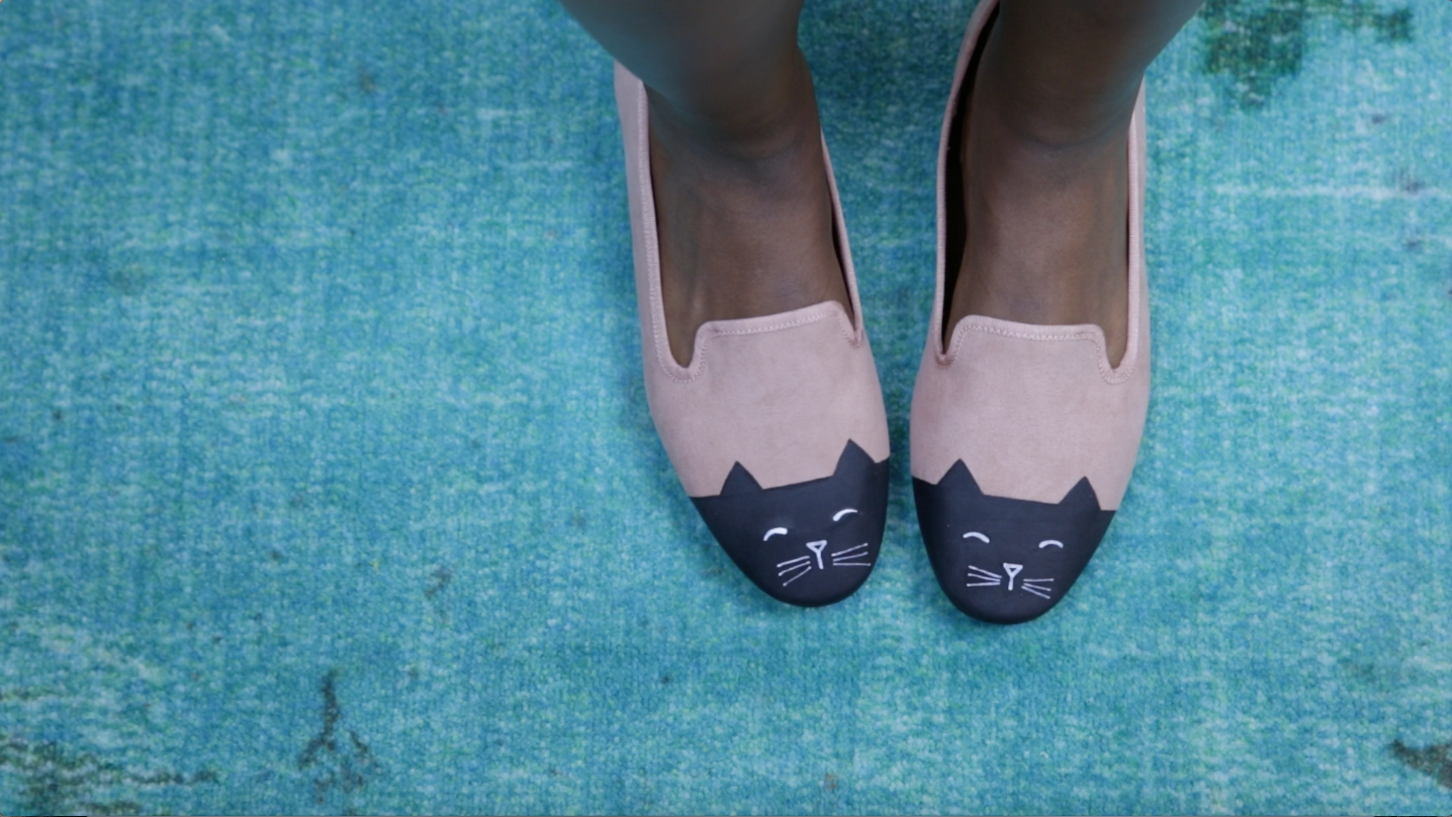 These DIY cat flats are paw-sitively adorable