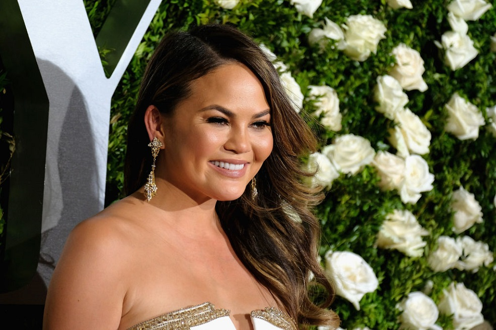 "Chrissy Teigen's ""period skin"" video is all too relatable"