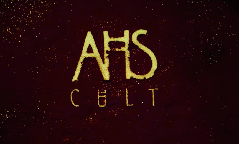 "The first poster for ""American Horror Story: Cult"" is here, and it couldn't BEE any more terrifying"