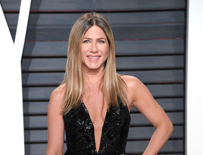 Jennifer Aniston is bringing back the '90s handkerchief dress trend