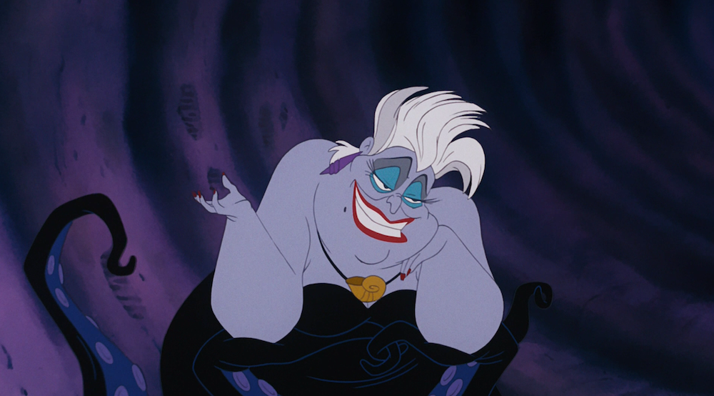 This guy transformed himself into Ursula with makeup, and our poor unfortunate souls are screaming