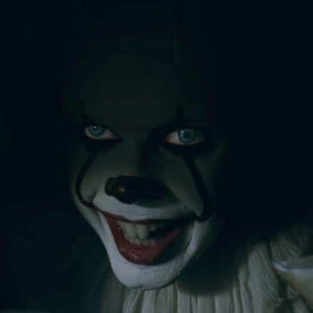"We're too terrified to watch the ""It"" trailer ourselves, but here it is if you're feeling brave"