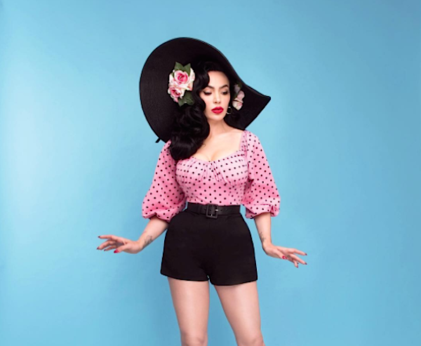 Micheline Pitt's new capsule collection for Unique Vintage is a pinup queen's dream
