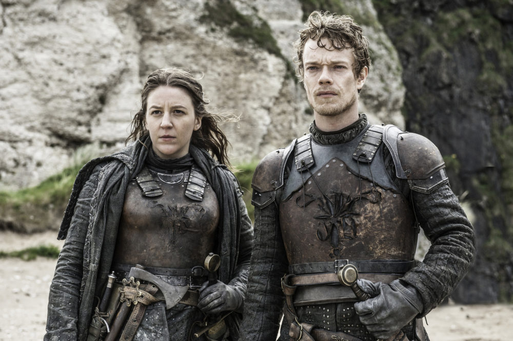 We need to leave Theon alone, because Alfie Allen's explanation of that whole jumping ship thing makes so much sense