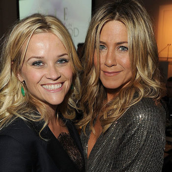 Reese Witherspoon and Jennifer Aniston are teaming up to star in a TV show together, and this might be the best TV show *ever*