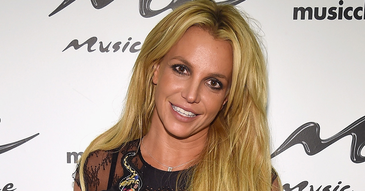 Britney Spears showed off her workout routine, and it's actually pretty hypnotizing to watch
