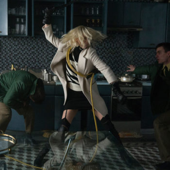"Charlize Theron's heel fight scene in ""Atomic Blonde"" is a reminder that women can be feminine *and* badass"