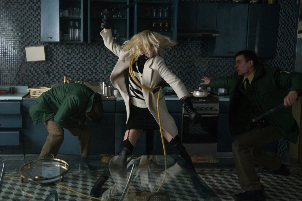 """Atomic Blonde"" departs from the fantastical action of superhero movies, in favor of the realistic"