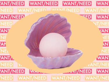 WANT/NEED: A clam lamp that'll make you feel like a mermaid, and more stuff you want to buy