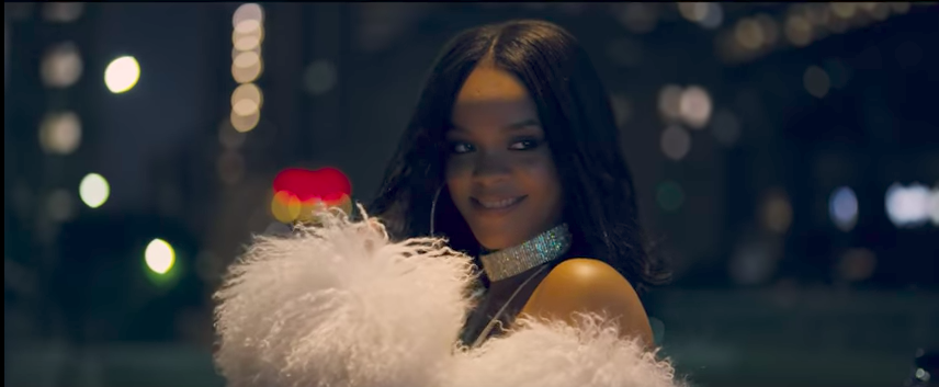 "Rihanna is serving up summer sexiness in the video for ""Loyalty,"" and here's where to get her exact dress"