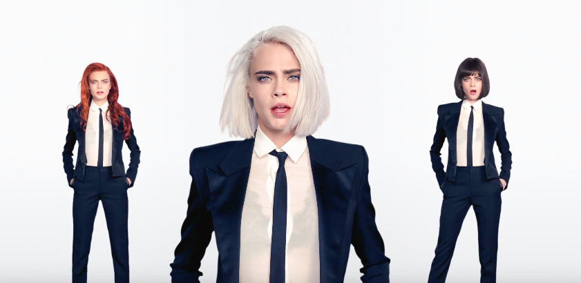 Drop everything and watch Cara Delevingne's first music video
