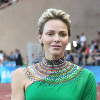 Princess Charlene of Monaco traded her tiara for a strapless silver jumpsuit, and proved that modern royals should take fashion risks
