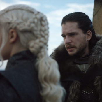 "Emilia Clark just confessed what we were all thinking when Jon pet Drogon on ""Game of Thrones"""