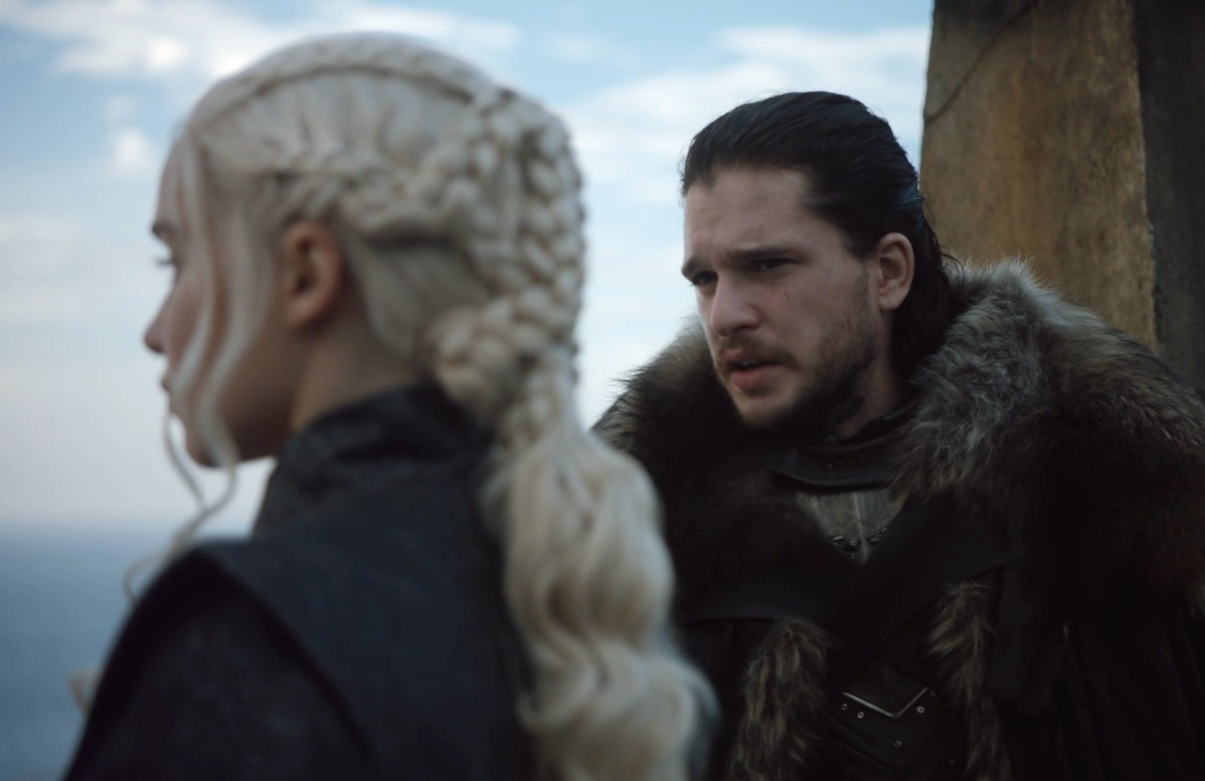 """Jon and Dany *finally* met on """"Game of Thrones"""" —but they've got a long way to go before they're BFFs"""
