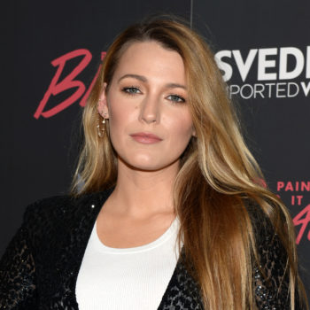 Blake Lively just posted the most cryptic and bizarre makeup chair photo