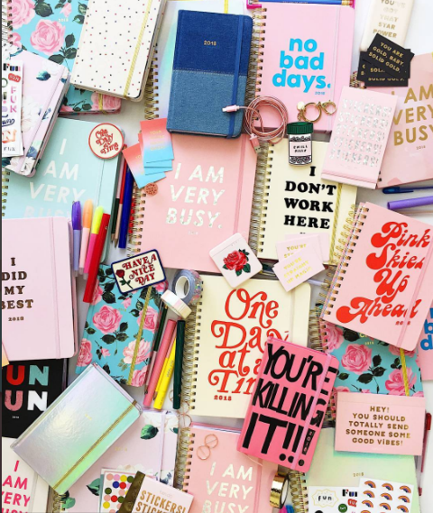 Celebrate Ban.do's International Agenda Day with these cute and cheeky planners