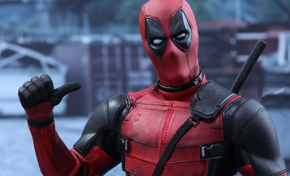 """Ryan Reynolds just shared the first image from """"Deadpool 2,"""" and it looks like this sequel is all about the ladies"""